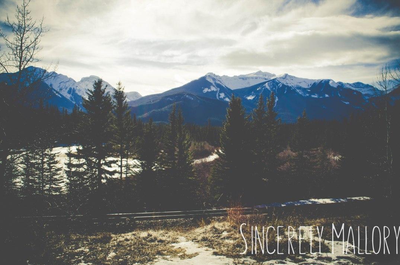 52-week photography challenge Banff National Park