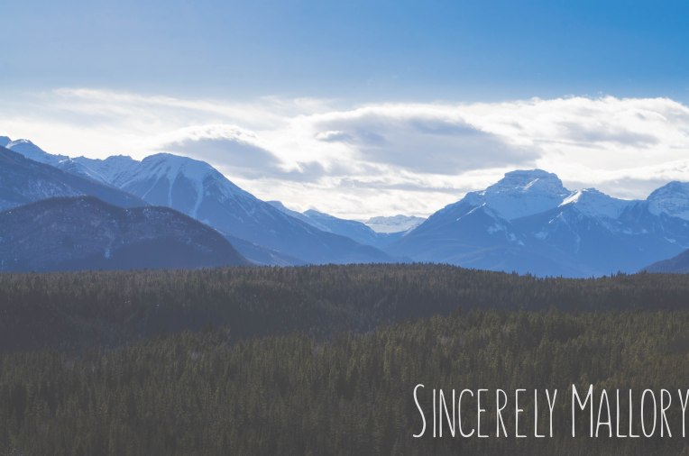 52-week photography challenge Banff National Park